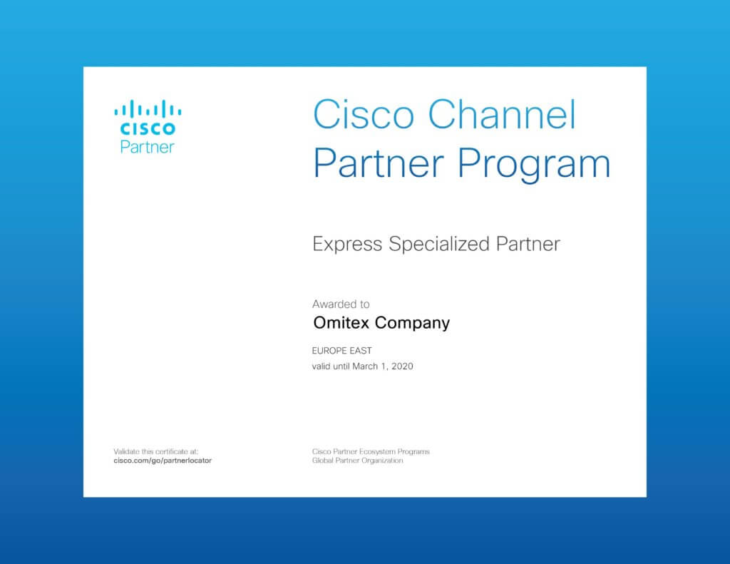 Cisco Express Specialized Partner