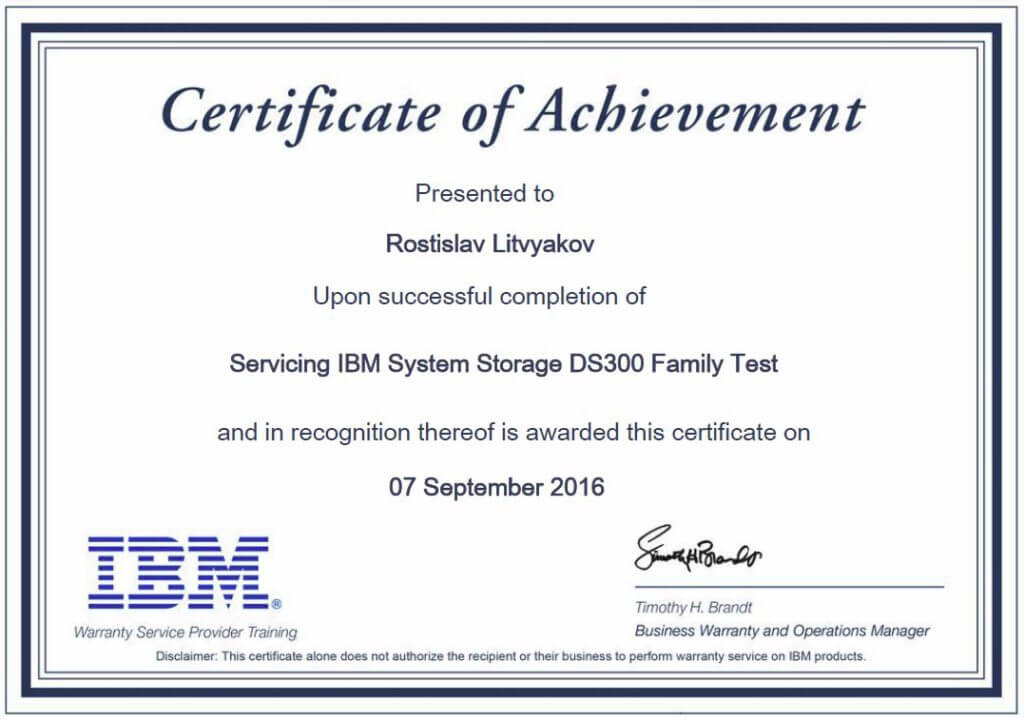 Servicing IBM System Storage DS3000