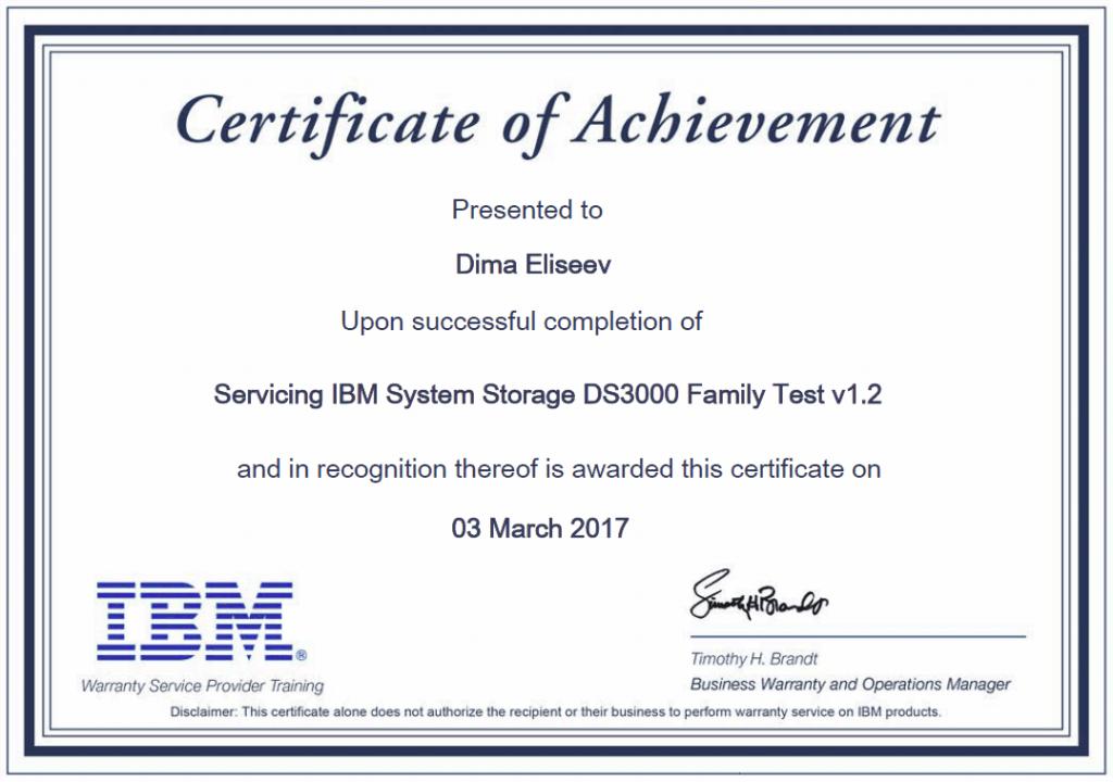 Servicing the IBM System Storage DS3000